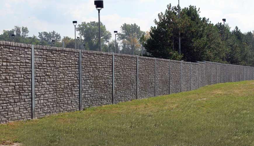 Verti Fence Sound Barrier